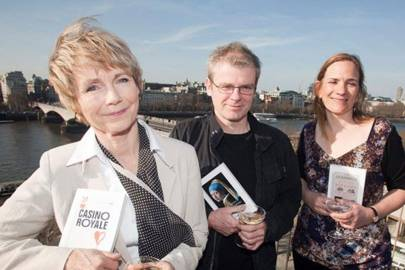 Lucy Flemming, Mark Haddon and Tracey Chevalier