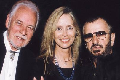 Gary Brooker, Mrs Ringo Starr and Ringo Starr