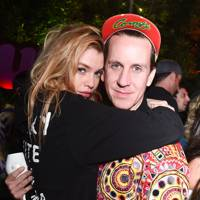Stella Maxwell and Jeremy Scott