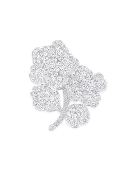 Diamond brooch, POA, Graff