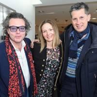 Emanuele Della Valle, Kristina O'Neill and Stefano Tonchi