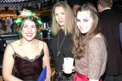 Eve Jones, Harriet Whiting and Annabelle Spranklen