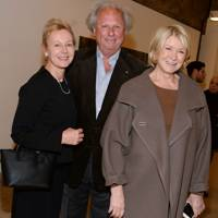 Emily Astor, Graydon Carter and Martha Stewart