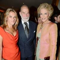 Tracey Emin, Prince Michael of Kent and Princess Michael of Kent