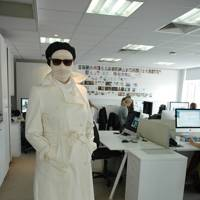 Kate Lauer as Invisible Man