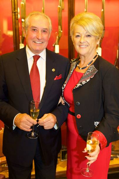 Gareth Edwards and Maureen Edwards