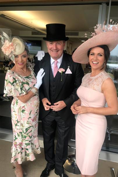 Dame Joan Collins, Piers Morgan, Susannah Reid
