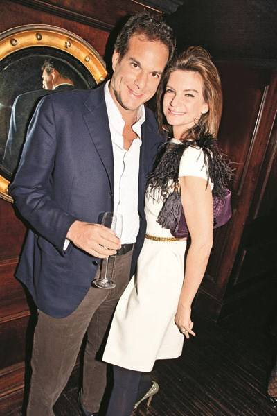 Brent Hoberman and Natalie Massenet