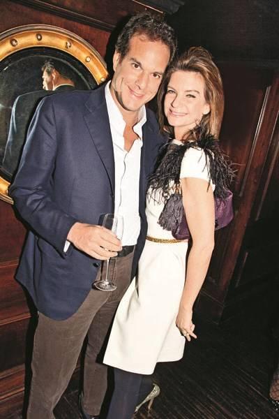 Brent Hoberman and Natalie Massenet