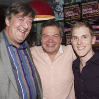 Stephen Fry, Anthony Drewe and Lewis Barnshaw