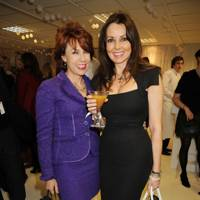 Kathy Lette and Carol Vorderman