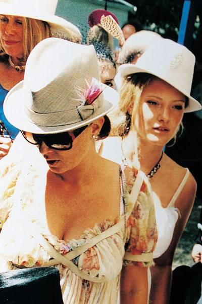 Sadie Frost and Sussy Cazalet