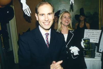 Prince Edward and Zahra Hanbury