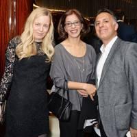 Astrid Harbord, Fehmina Ahmed and Shamshad Ahmed
