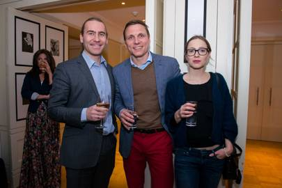 Dmitry Zakirov, Roman Grigorjev and Anastassia Lootus