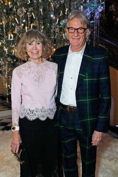 Lady Smith and Sir Paul Smith