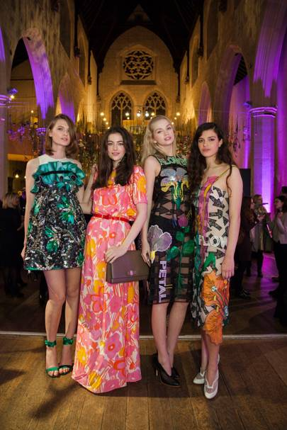 Lara Mullen, Evangeline Ling, Diana Khullina and Millie Brady