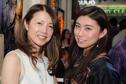 Yukiko Pajot and Vivian Liu