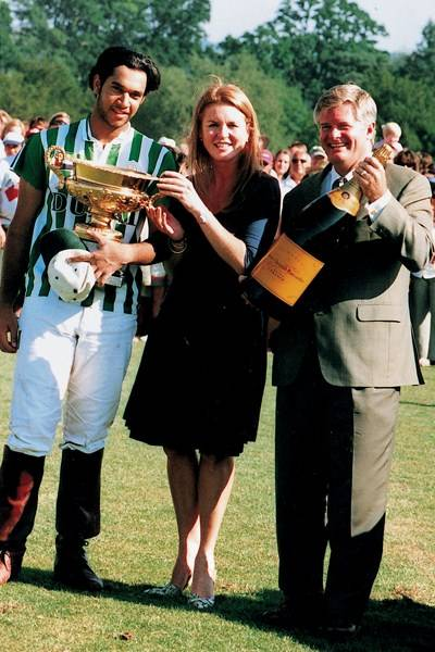 Tariq Albwardy, Sarah Ferguson and David Meyers