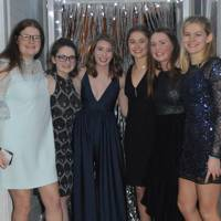 Charlotte Lumby, Sophie Sykes, Amy Philips, Didi Price, Aislinn Riding and Eliza Dennis