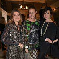 Natalie Massenet,  Caroline Rush and Jasmine Guinness