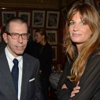 Jonathan Newhouse and Jemima Khan