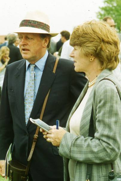 Andrew Parker Bowles and Rosemary Parker Bowles