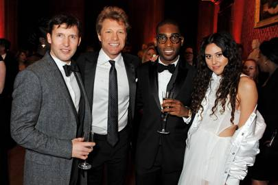 James Blunt, Jon Bon Jovi, Tinie Tempah and Eliza Doolittle