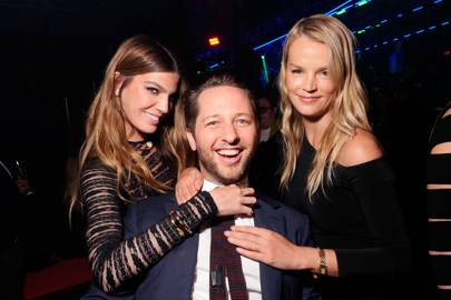 Bianca Brandolini d'Adda, Derek Blasberg and Kelly Sawyer