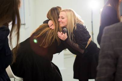Mary Katrantzou and Courtney Blackman