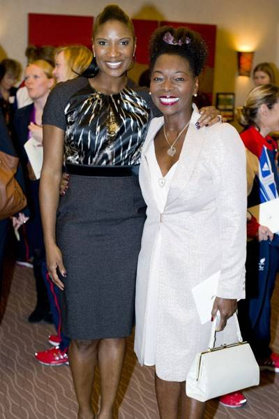 Denise Lewis and Floella Benjamin