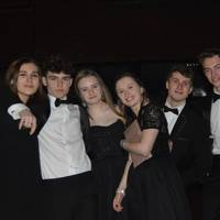 Isabella Baker, Ollie Wilkinson, Ffion Leeman, Martha Lawrence, Aaron Campbell and Ollie Dennis