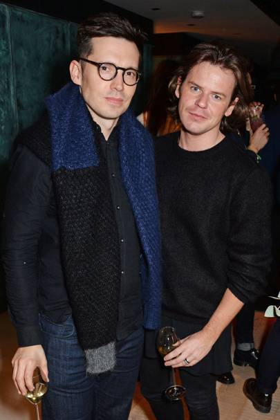 Erdem Moralioglu and Christopher Kane