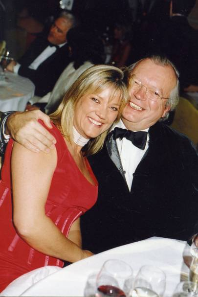Mrs David Forbes and Olaf Rogge