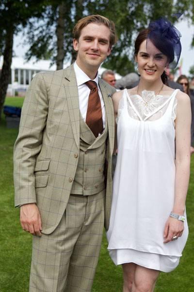 Dan Stevens and Michelle Dockery - BAFTA Portrait, May 22 ...  Michelle Dockery And Dan Stevens Married