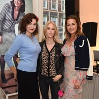 Jasmine Guinness, Mary Charteris and Yasmin Le Bon