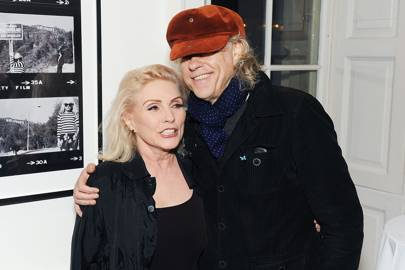 Bob Geldof and Debbie Harry
