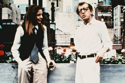 1977 - Woody Allen and Diane Keaton in Annie Hall