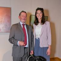 David Blunkett, Michelle McCullagh and Cosby