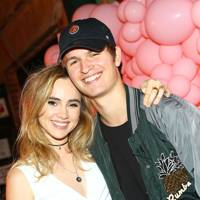 Suki Waterhouse and Ansel Elgort