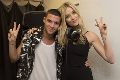 Aaron Frew and Laura Whitmore