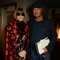 Anna Wintour and Michael Roberts