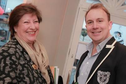 Lesley Longden and Richard Cross
