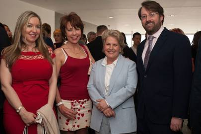 Victoria Coren, Kathy Lette, Sandi Toksvig and David Mitchell