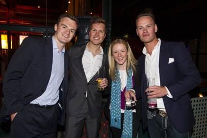 Robbin Hynes, Seb Croft, Zoe Davies and Christian Croft