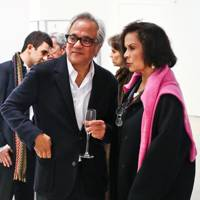 Bianca Jagger and Sir Anish Kapoor