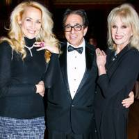 Jerry Hall, Bruce Shapiro and Joanna Lumley