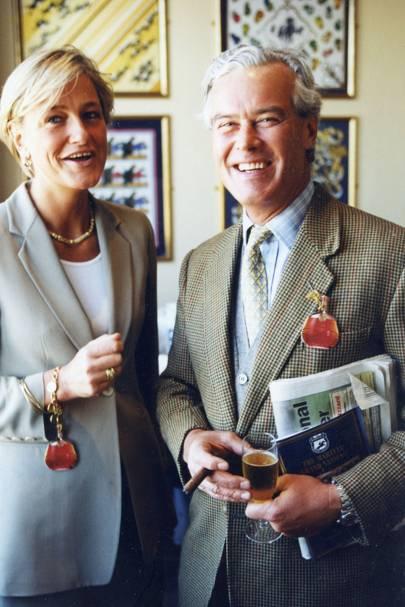 Mrs David Reid-Scott and David Reid-Scott