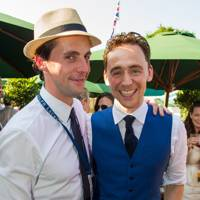 Matthew Goode and Tom Hiddleston