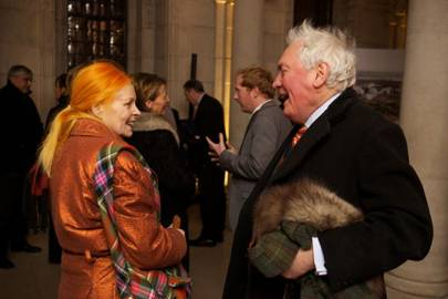 Dame Vivienne Westwood and Edward Booth-Clibborn